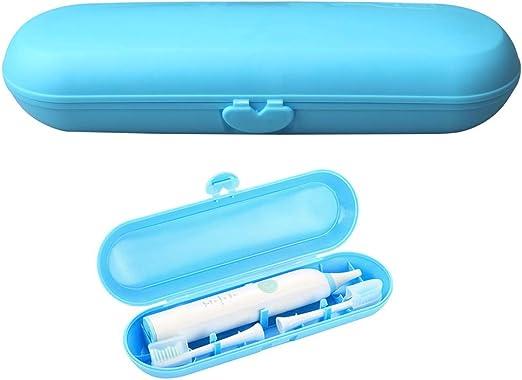 Kuou - Estuche de Viaje para Cepillo de Dientes eléctrico, Soporte de plástico para Braun Oral-B Philips: Amazon.es: Hogar