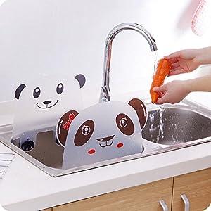 2pcs Plastic Kitchen Sink Water Splash Guard Spitting