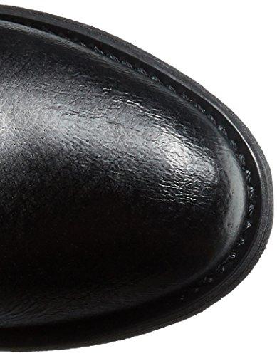Steve Madden Bota Alyy Ingeniero Black Leather