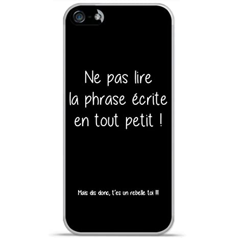 coque iphone 5 avec des phrases