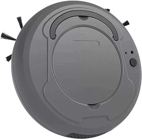 HANFEI Robot Aspirador Aspirador Aspirador Roboter, Aspiradora, Barrer y Limpiar 3 en 1 1200 Pa Super Aspirador Diseño Ultrafino Silencioso, para alfombras, suelos y azulejos, Robot aspirador: Amazon.es: Grandes electrodomésticos