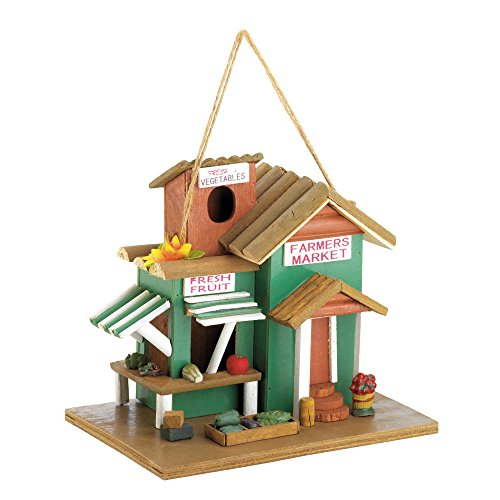 Koehler 38278 10 inch Farmer'S Market Birdhouse Outdoor Decor