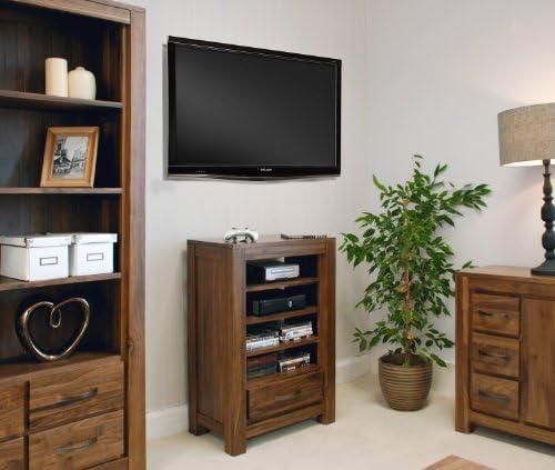 Baumhaus CWC09C - Mesa para equipo de sonido (madera de nogal ...