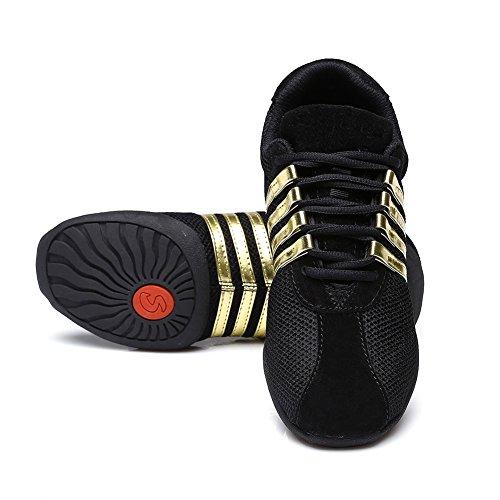 al Oro1 de hop de zapatillas moderno mujeres zapatos hip jazz SWDZM libre ES zapatos de zapatos T01 deporte deportivo aire baile PRZpWw8q