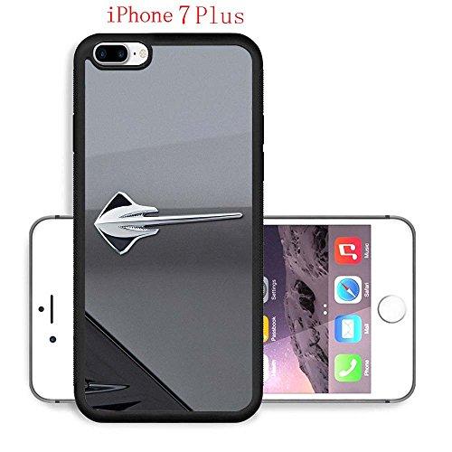 iPhone 7 Plus Cases, Chevy 2014 Chevrolet Corvette Stingray Badge Drop Protection Never Fade Anti Slip Scratchproof Black Soft Rubber Case