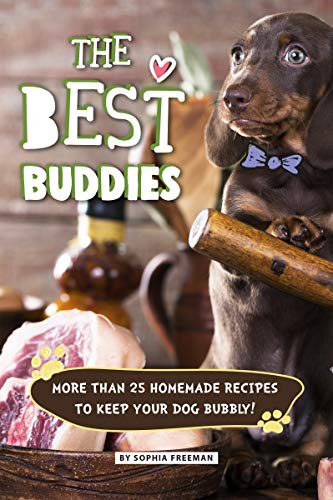 The Best Buddies: More than 25 Homemade Recipes to Keep your Dog Bubbly!