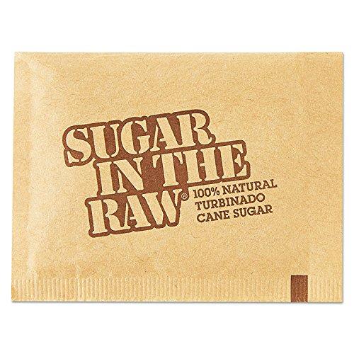 - Sugar In The Raw 827749 Sugar Packets, Raw Sugar, 0.18 oz Packets, 500 per Carton