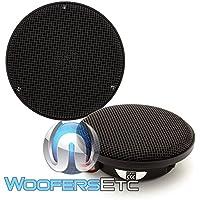 Morel CDM880 3.5 100W RMS, Midrange Car Stereo Speakers (CDM-880)