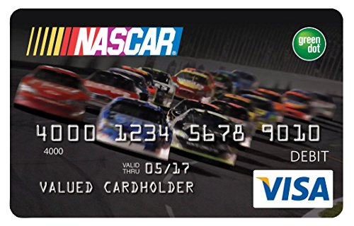 amazoncom nascar reloadable prepaid visa card credit card offers - Reloadable Prepaid Credit Cards