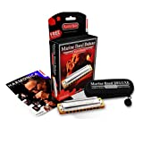 ARMONICA BLUES - Hohner (2005/20G) Marine Band Deluxe (Nota Sol) (20 Voces)