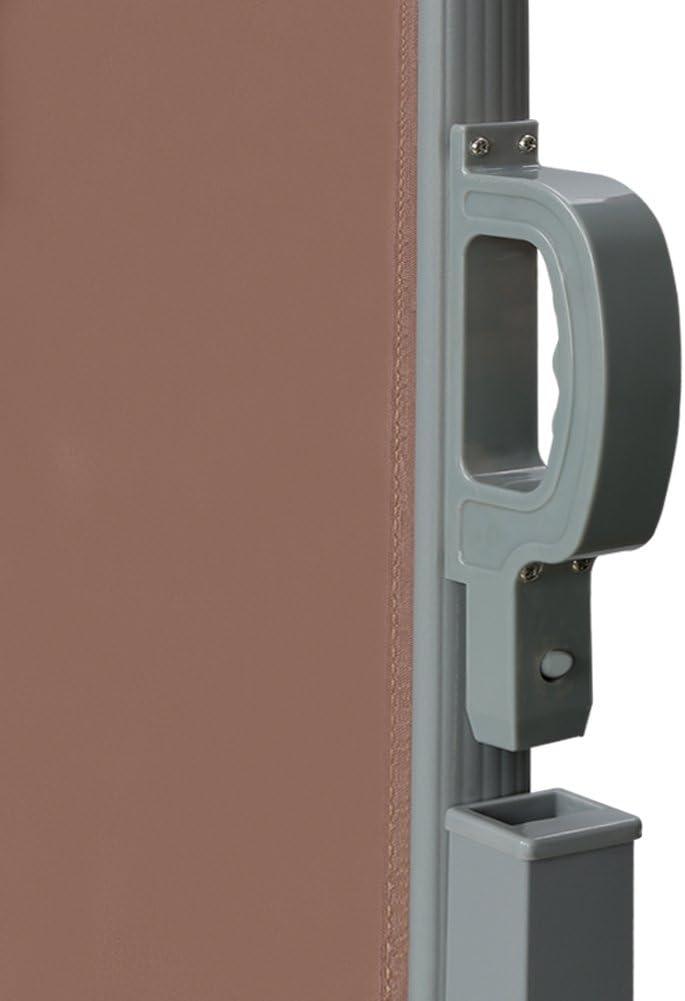 CCLIFE Toldo Lateral Anti-UV Marquesina Lateral Separador retr/áctil terraza protecci/ón 3 tama/ño