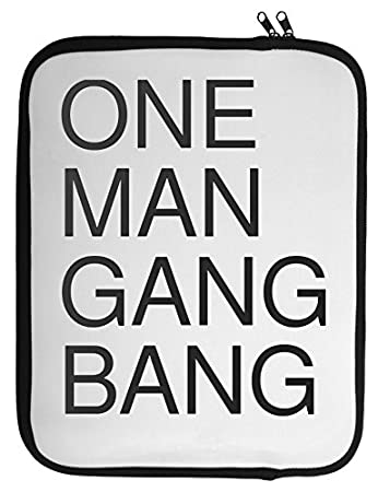 One man gang bang