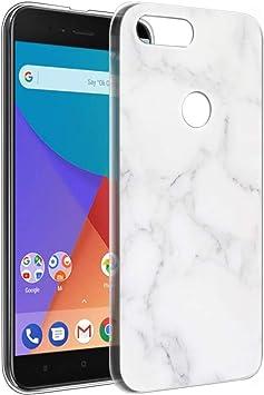 Pnakqil Funda Xiaomi Mi A1, Silicona Transparente con Dibujos ...