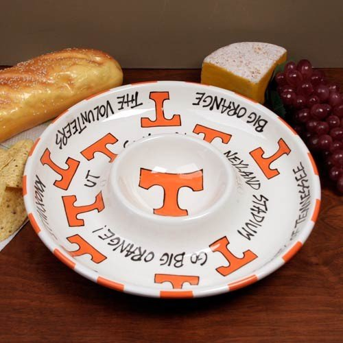12'' University of Tennessee Ceramic Circle Chip & Dip by Magnolia Lane
