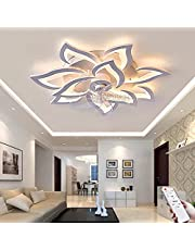 Ventilator Plafondlamp Dimbare Plafondventilator Met Verlichting LED-plafondlamp Met Ventilator 100W Moderne Mute Fan Plafondlamp Voor Slaapkamer Woonkamer En Eetkamer Bar Ventilatorlicht