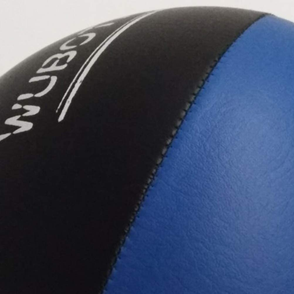 Black and Blue VORCOOL Double-end Bag Boxing Ball Speed Bag Speed Training Ball for Punching MMA Training Workout Exercise Agility Training