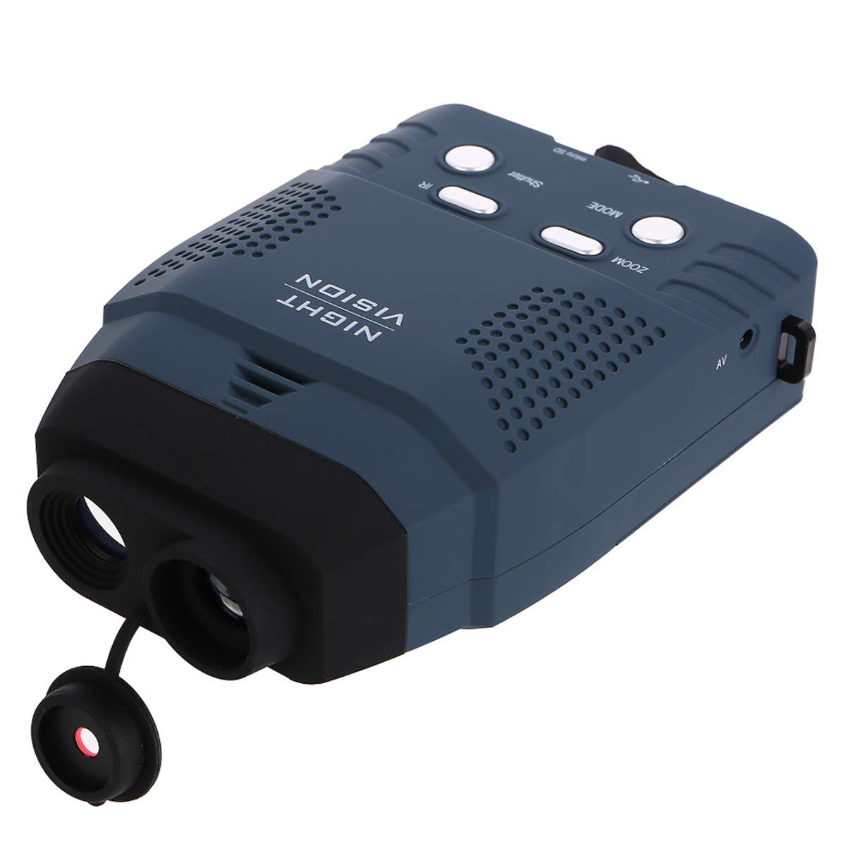 Hope Soo Digital Night Vision Monocular Portable Blue-Infrared Illuminator HD Night Vision Scope with Photo Camera & Camcorder Function New Optics for Outdoor by Hope Soo