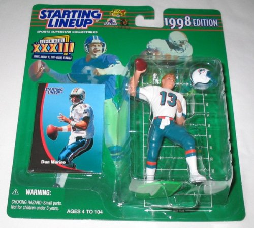 1998 Dan Marino SuperBowl xxxlll Exclusive NFL Starting Lineup