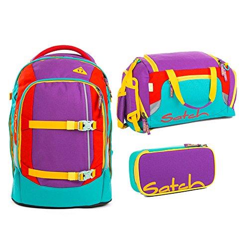 Satch Pack - 3tlg. Set Schulrucksack - Flash Runner