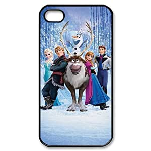 diy zheng Customized Print Frozen Pattern Back Case for Ipod Touch 4 4th //