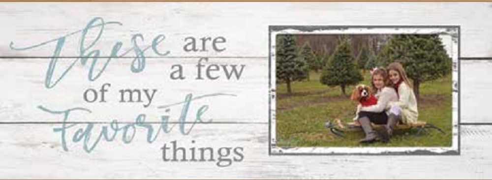 Poor Boy Woodworks Picture Frame These Are A Few Of My Favorite Things, White