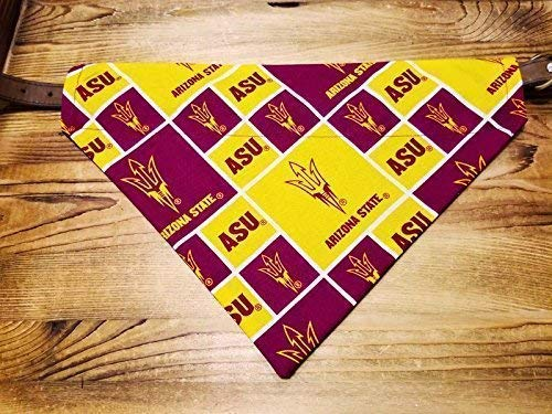Arizona State ASU Sun Devils Dog Bandana No-Tie