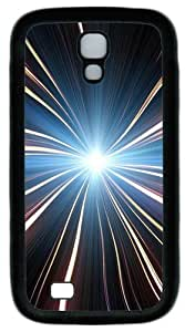 Samsung Galaxy I9500 Case, Samsung Galaxy I9500 Cases -Dream Abstract Twirl TPU Silicone Rubber Case Cover for Samsung Galaxy S4 and Samsung Galaxy I9500 Black