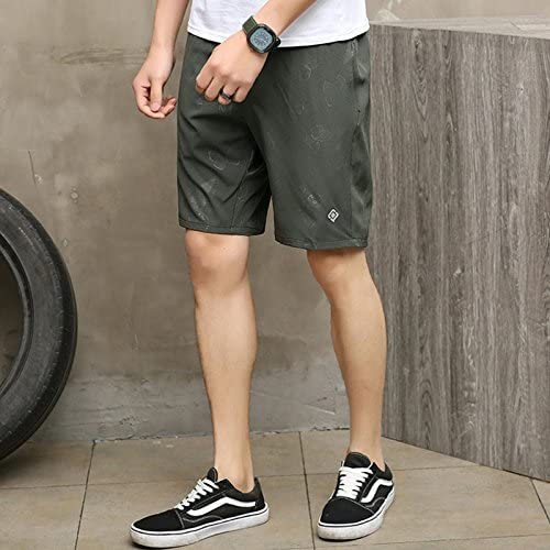 Summer Quick Dry Shorts Breathable Casual Lightweight Running Gym Training Short Pants with Zip Pockets Bmeigo Mens Sport Shorts