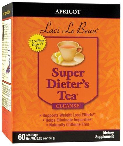 Apricot Super Dieters (SUPER DIETER'S TEA APRICOT 60 Tea Bags Net Wt 5.26 oz./150 g by Laci LeBeau)