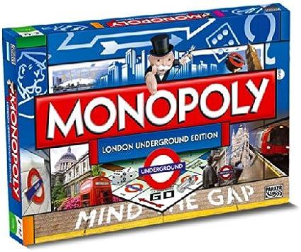 Metro de Londres Monopoly 8+: Amazon.es: Juguetes y juegos