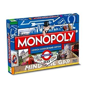 Monopoly Juegos Y esJuguetes Londres 8Amazon Metro De PkTOXiuZ
