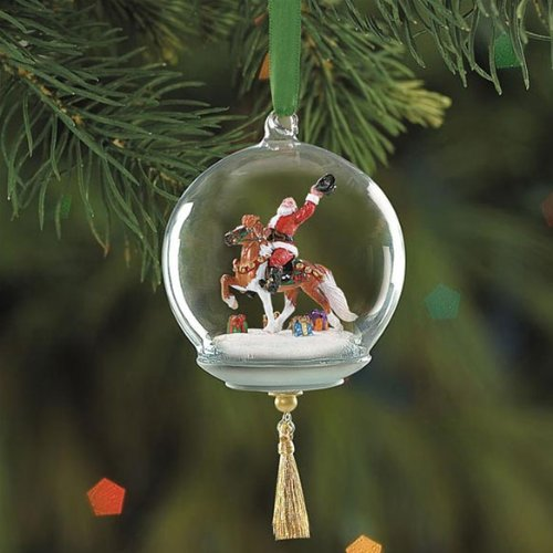 Breyer Hats Off to the Holidays Glass Globe Ornament (2005 Glass Ornament)