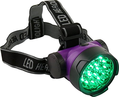 Intensity Headlamp - Apollo Horticulture 19 Watt LED High Intensity Green Light Headlamp