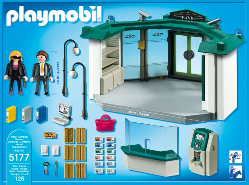 playmobil bank mit geldautomat