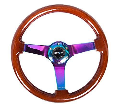 NRG Innovations ST-036BR-MC Classic Dark Wood Grain Wheel (3