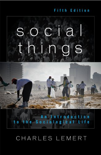 Download Social Things: An Introduction to the Sociological Life Pdf