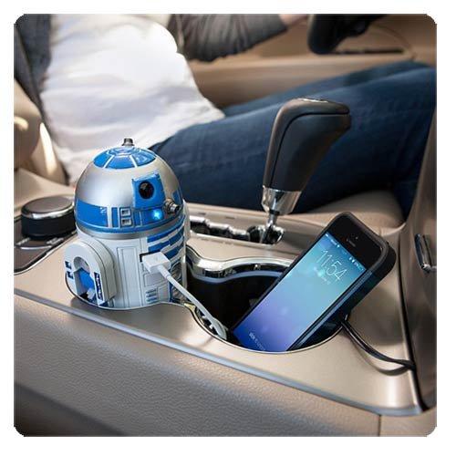 ThinkGeek Star Wars R2-D2 Car Charger by ThinkGeek