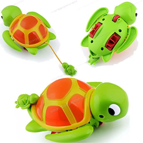 Cute Swimming Turtle Tortoise Pool Toys for Baby Children Kids Bath Bathtub Time by Completestore from Completestore