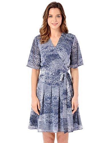 cheetah pattern dress - 8