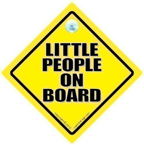 Little People On Board Car Sign, Little People On Board, Baby On Board Sign, Baby on Board, Decal, Bumper Sticker, Baby Sign, Baby Car Sign, Novelty Car Sign, Grandchild on Board, Baby Car Signs, Baby Safety iwantthatsign.com littlepeopleonboardcarsign