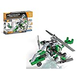 Mechanics Laboratory: Triple-Engined Helicopter & Airboat: Technologic Science & Play by Clementoni