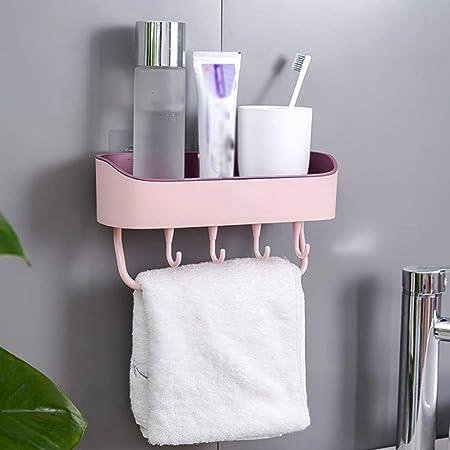 Home Sucker Kitchen Storage Shelf Bathroom Rack Shower Toothbrush Strong Plastic