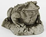 Toad Concrete Garden Statue Cement frog Sculpture Cast Stone Frogs figurines