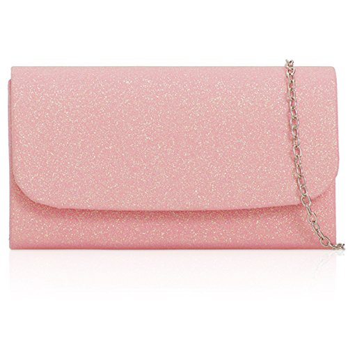 Bags Small Detachable Glitter With Sizes Strap Sequins Clutch Medium Xardi Evening Fabric Handheld London In Bridal Ladies Blush Chain For Women Sparkling x67g5Unw