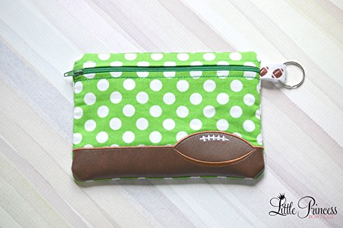 Sports Bag, Cosmetic Bag, Makeup bag, Football Bag, Footbal, Toiletry Bag by Little Princess Bowtique