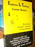 Engineer-In-Training License Review, Donald G. Newnan and C. Dean Newnan, 0910554331