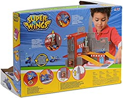 Auldey YW710820 Super Wings Playset New York City Pack/'N/'Go
