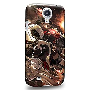 Case88 Premium Designs Kantai Collection Kancolle Yudachi 1085 Carcasa/Funda dura para el Samsung Galaxy S4