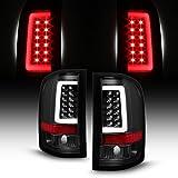 For 2007-14 Chevy Silverado Full LED Daytime Running Lamp Bar Tail Lights Black Housing Clear Lens Full Set