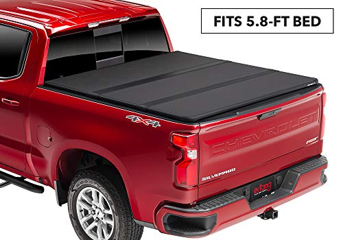 (Extang Solid Fold 2.0 Hard Folding Truck Bed Tonneau Cover | 83456 | fits Chevy/GMC Silverado/Sierra 1500 (5 ft 8 in) 2019,